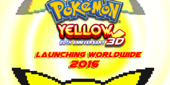 Pokemon Yellow Remake For 3DS